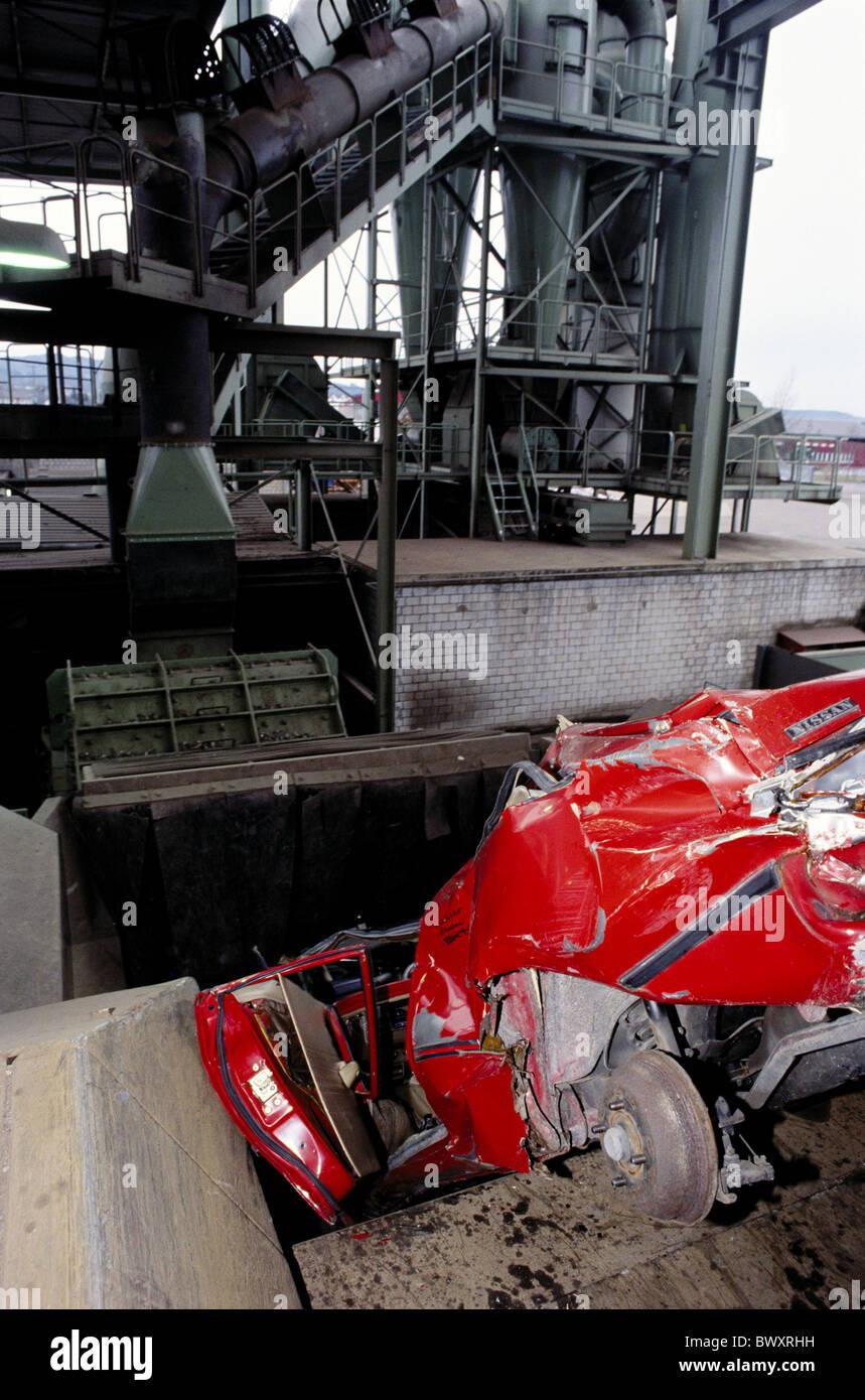 scrapping scrap metal rubbish scrap yard metal old iron industry ...