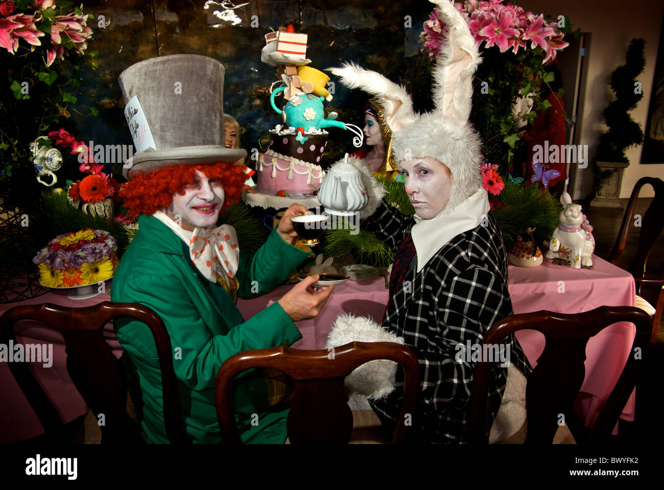 The Mad Hatter Kids Party
