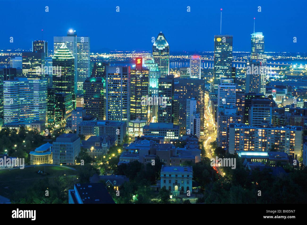 Canada city night