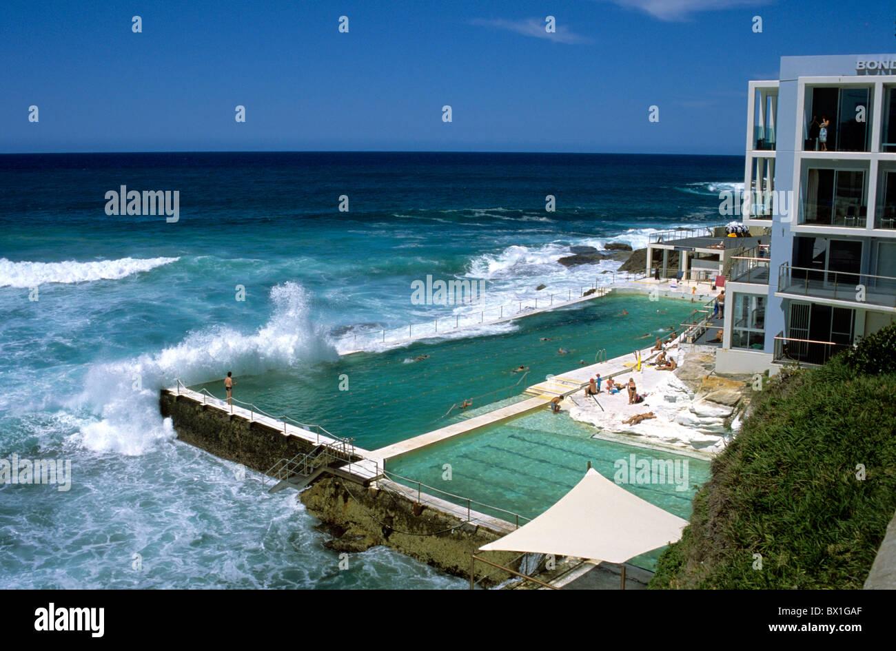 Australia bondi beach bondi icebergs saltwater swimming - Hotels with saltwater swimming pools ...
