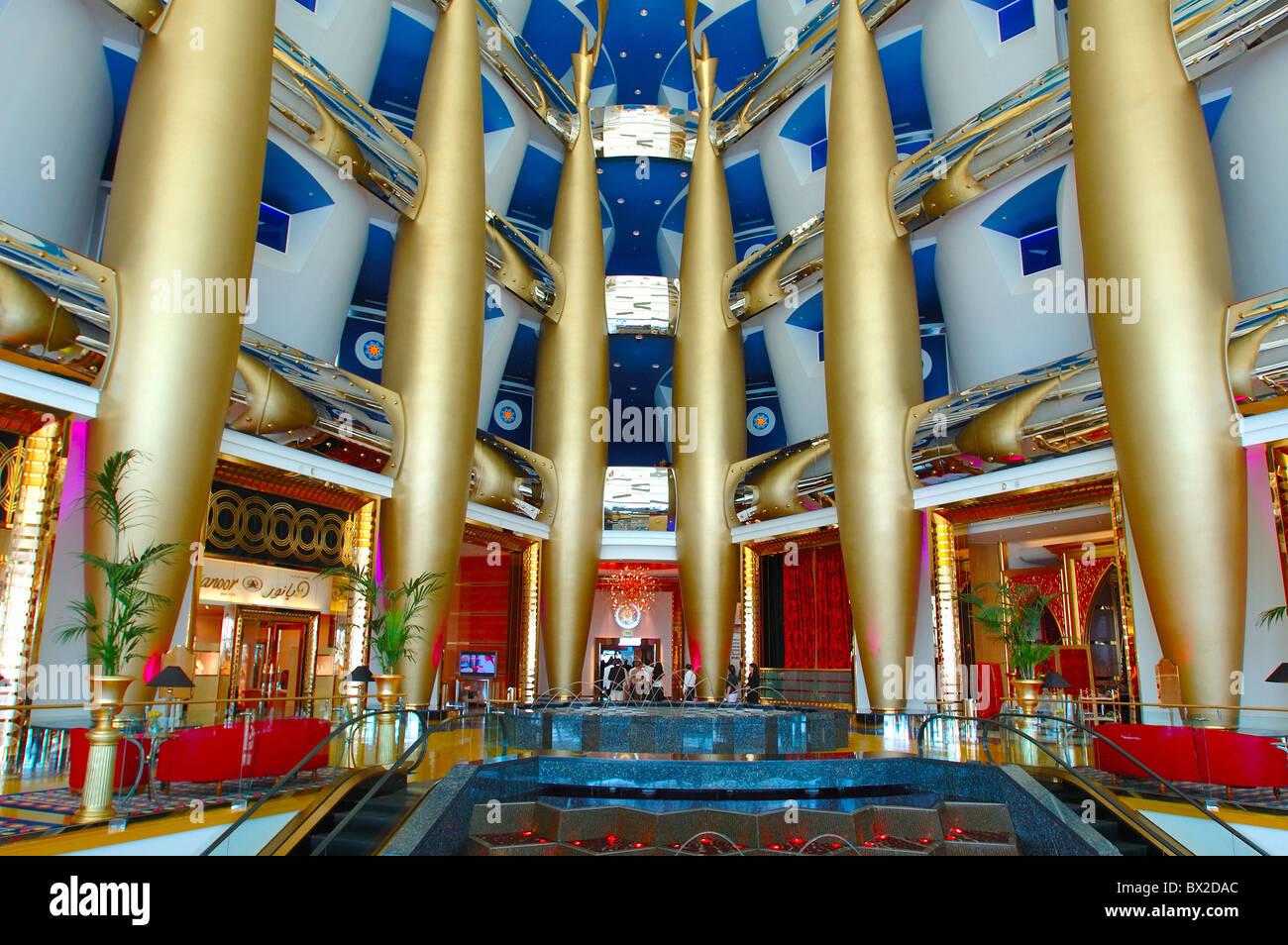 Burj al arab burj al arab transforms into head shoulders for Burj al arab hotel inside