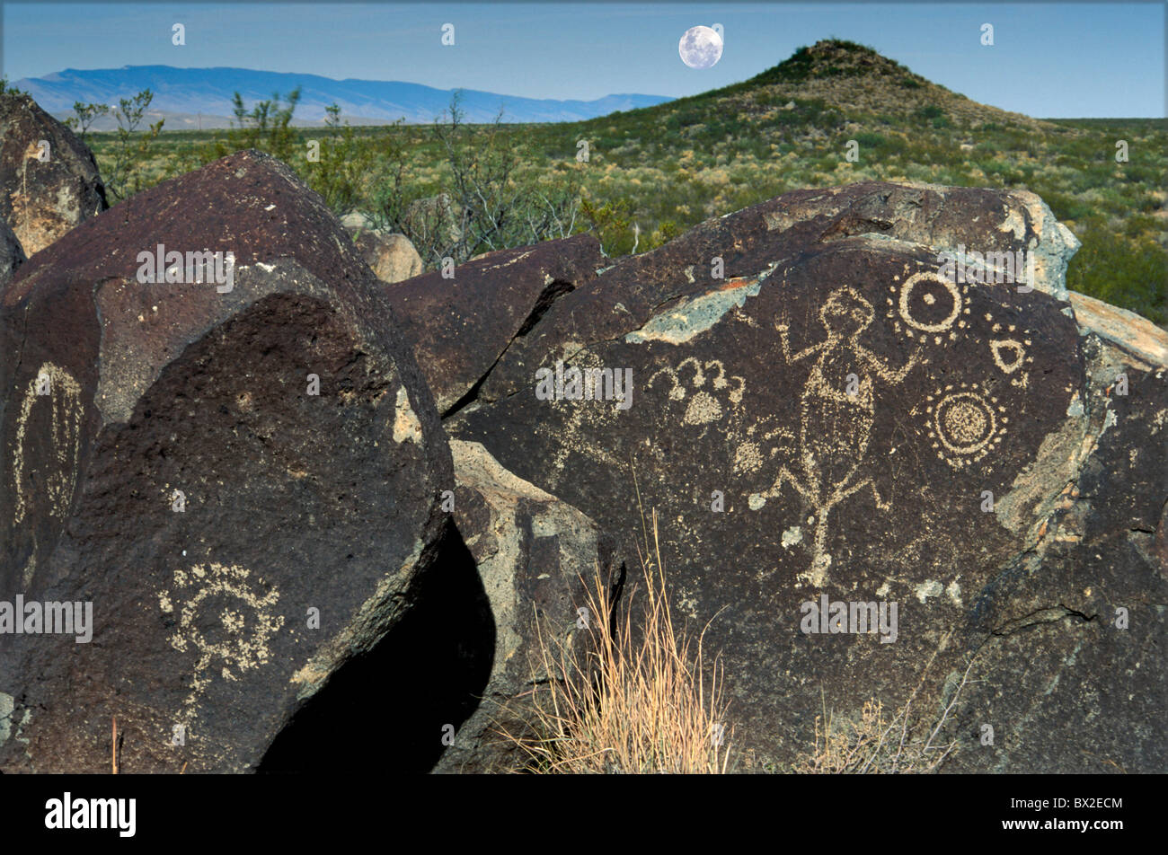 Indian Petroglyph Drawings Stock Photos Amp Indian Petroglyph