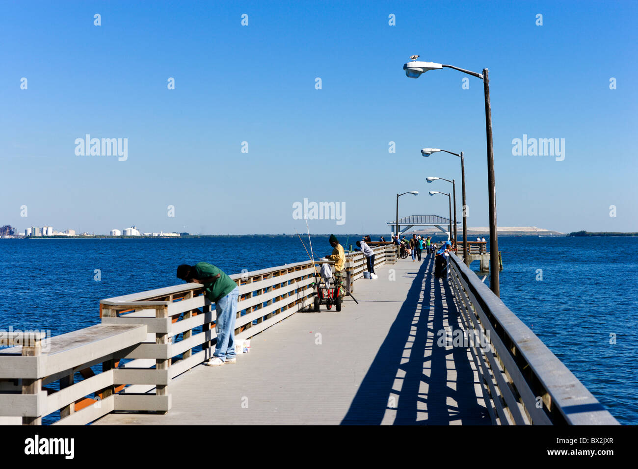 The fishing pier at ballast point park interbay peninsula for Tampa fishing piers