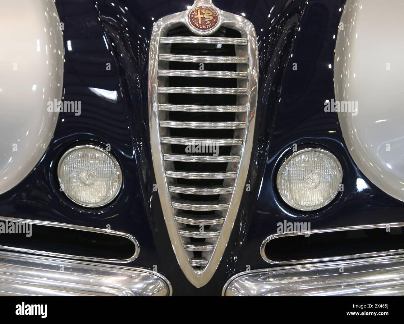 Design of a car radiator - Stock Photo Car Radiator Grills