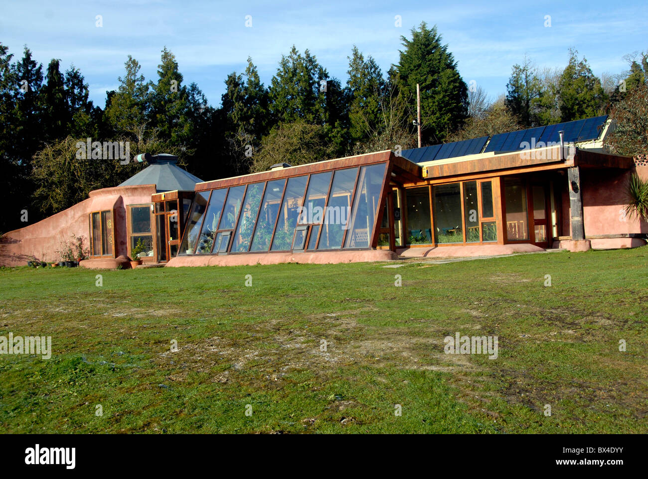 Earthship Brighton The First Earthship To Be Built From Recycled Rubber  Tyres In The UK, Stanmer Park, Brighton, UK
