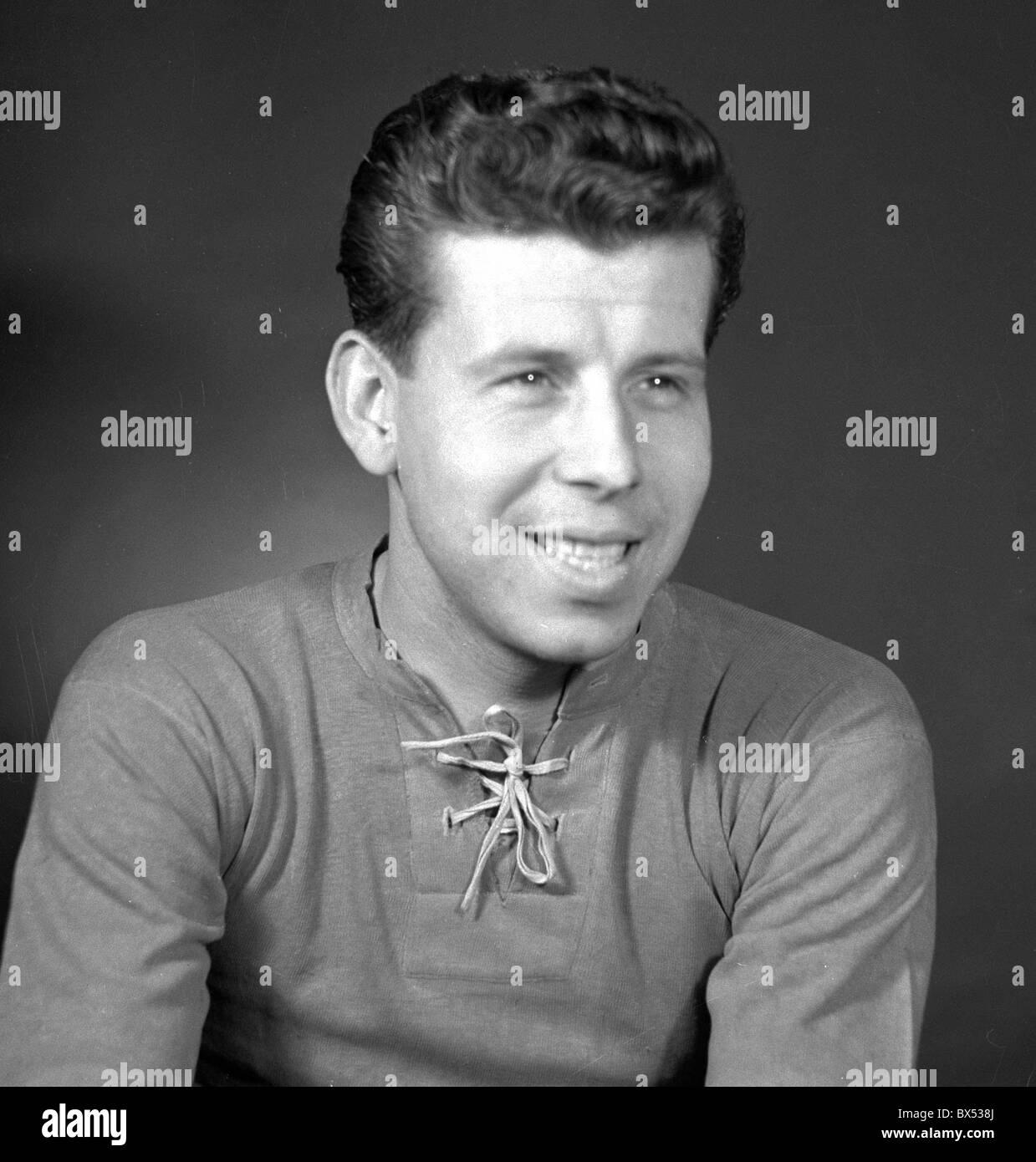 Czech soccer player Josef Masopust in 1958 CTK Zdenek