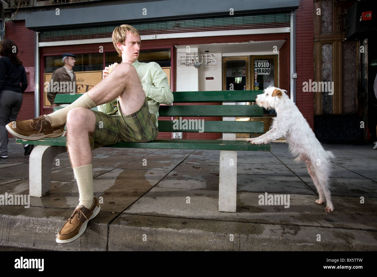 Jeremy Howard & Friday Hotel For Dogs (2009 Stock Photo ...