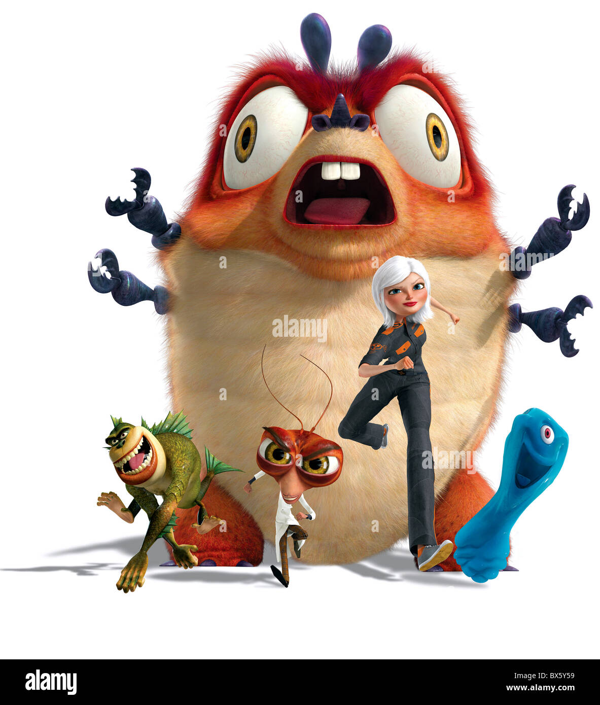 Monsters Vs Aliens The Missing Link