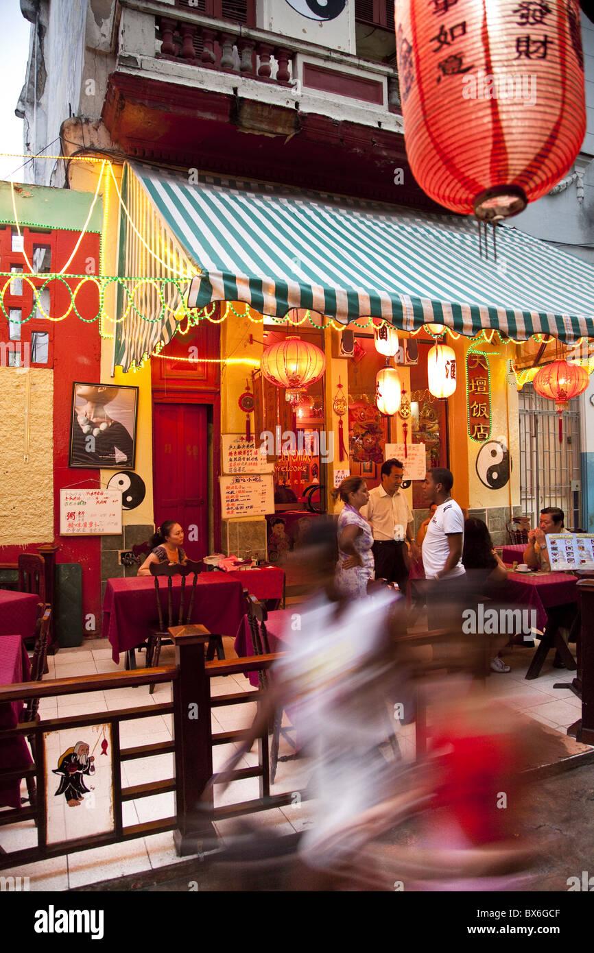 Chinese Restaurant In Havana Cuba