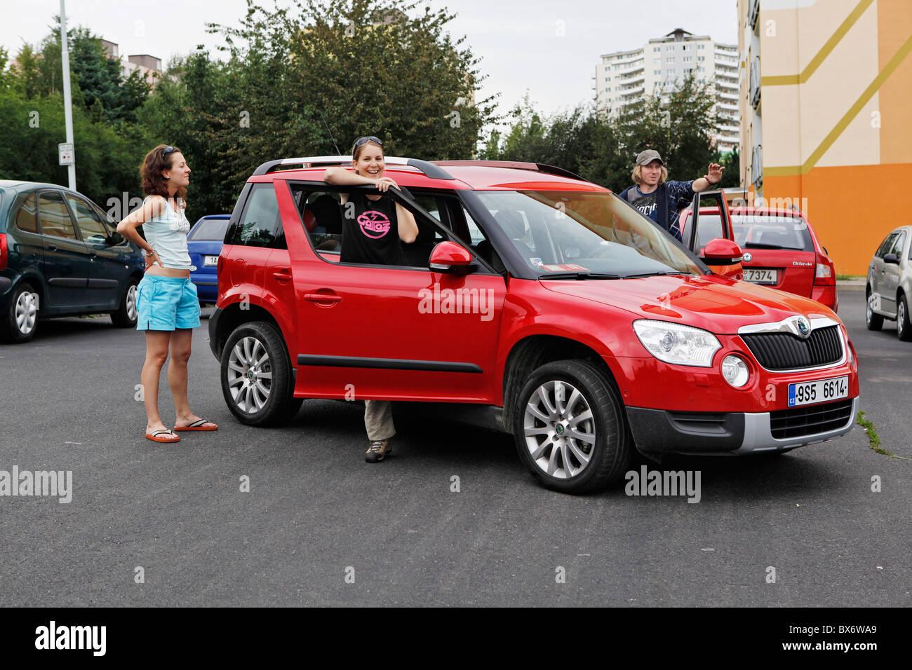 Czech Carmaker Skoda Auto New Model Skoda Yeti Tsi Suv