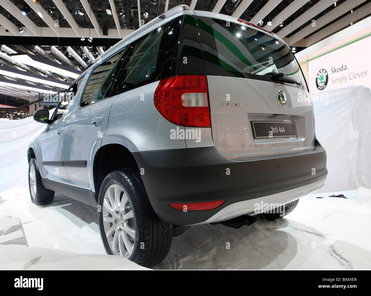 Skoda Yeti Car Suv Stock Photo Royalty Free Image Alamy