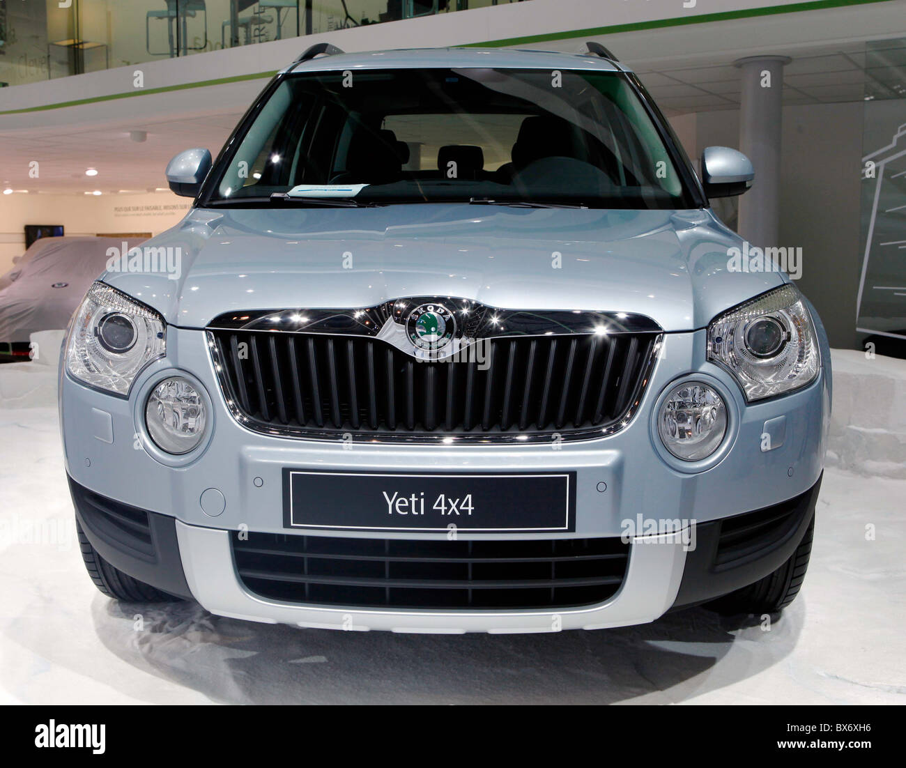 Skoda Yeti Suv Car Stock Photo Royalty Free Image Alamy