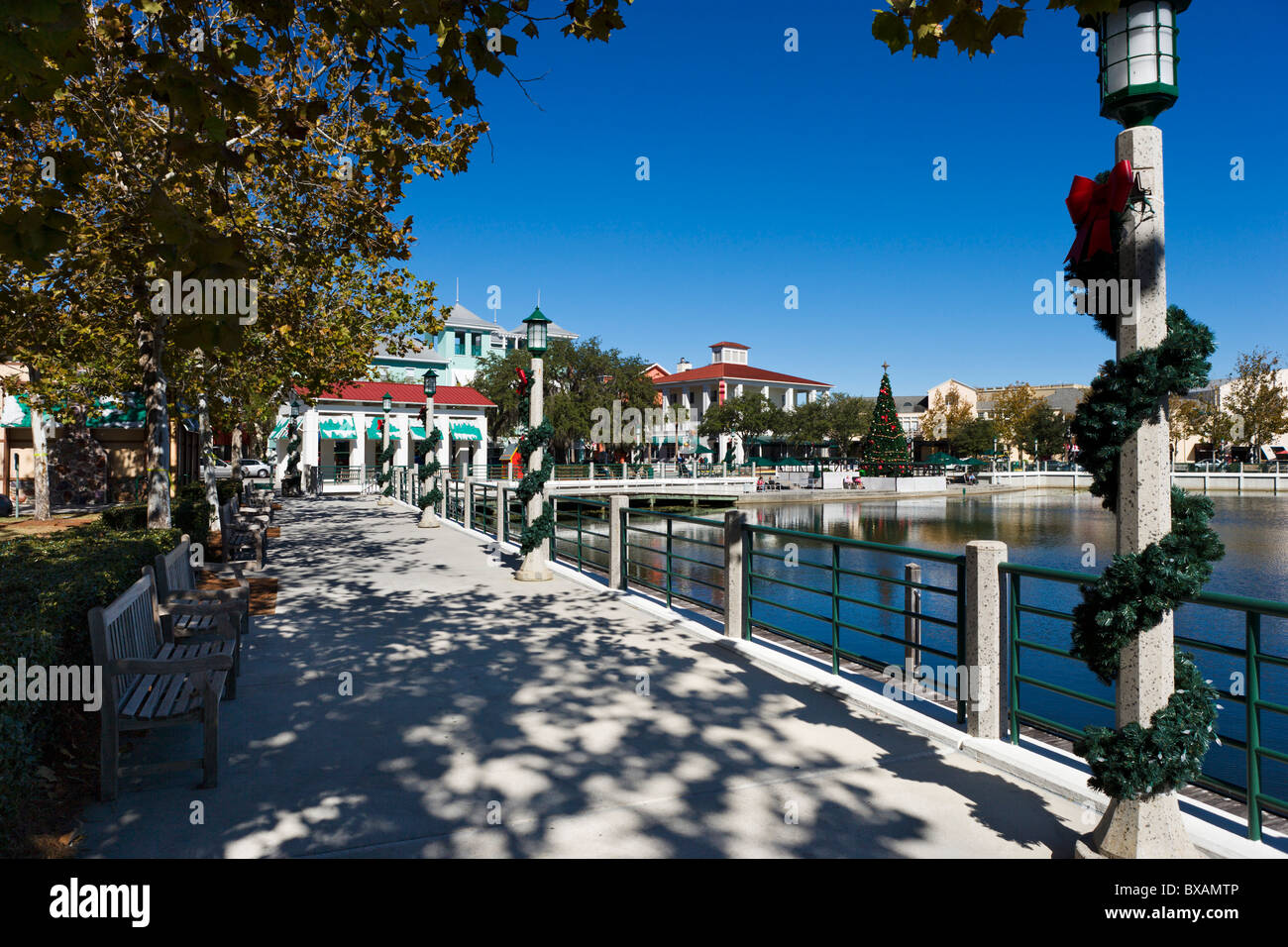 The Downtown Waterfront In The