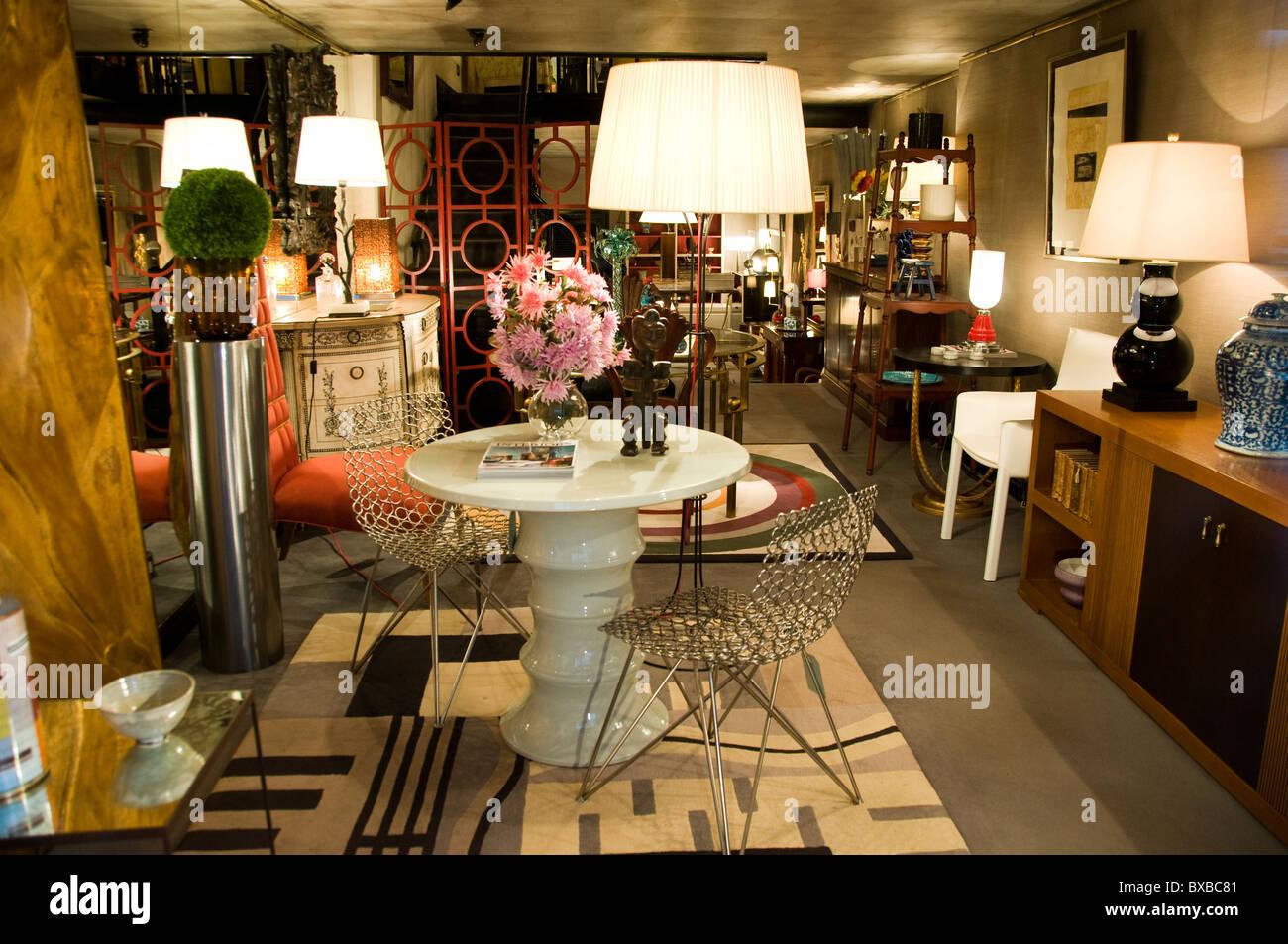 Bilbao Spain Spanish Store home shop furniture retail Stock Photo ...