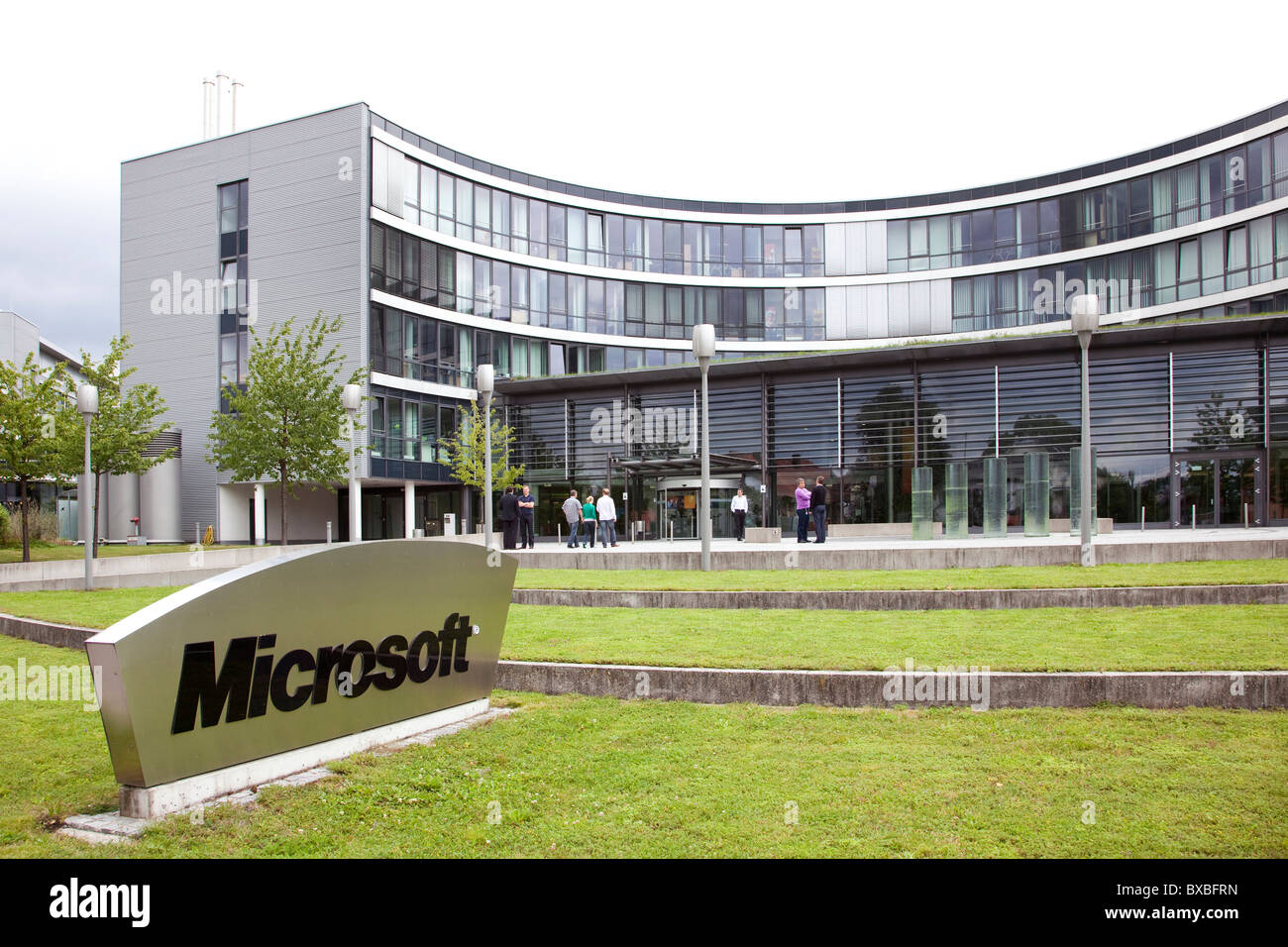 Headquarters Of Microsoft Company For Germany And Europe, In  Unterschleissheim Near Near Munich, Bavaria Part 42
