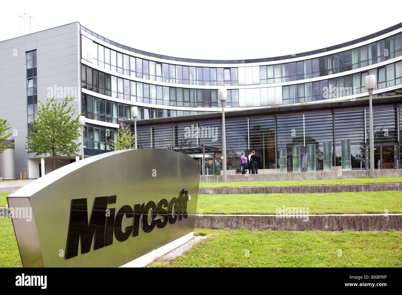Lovely ... Headquarters Of Microsoft Company For Germany And Europe, In  Unterschleissheim Near Near Munich, Bavaria Part 22