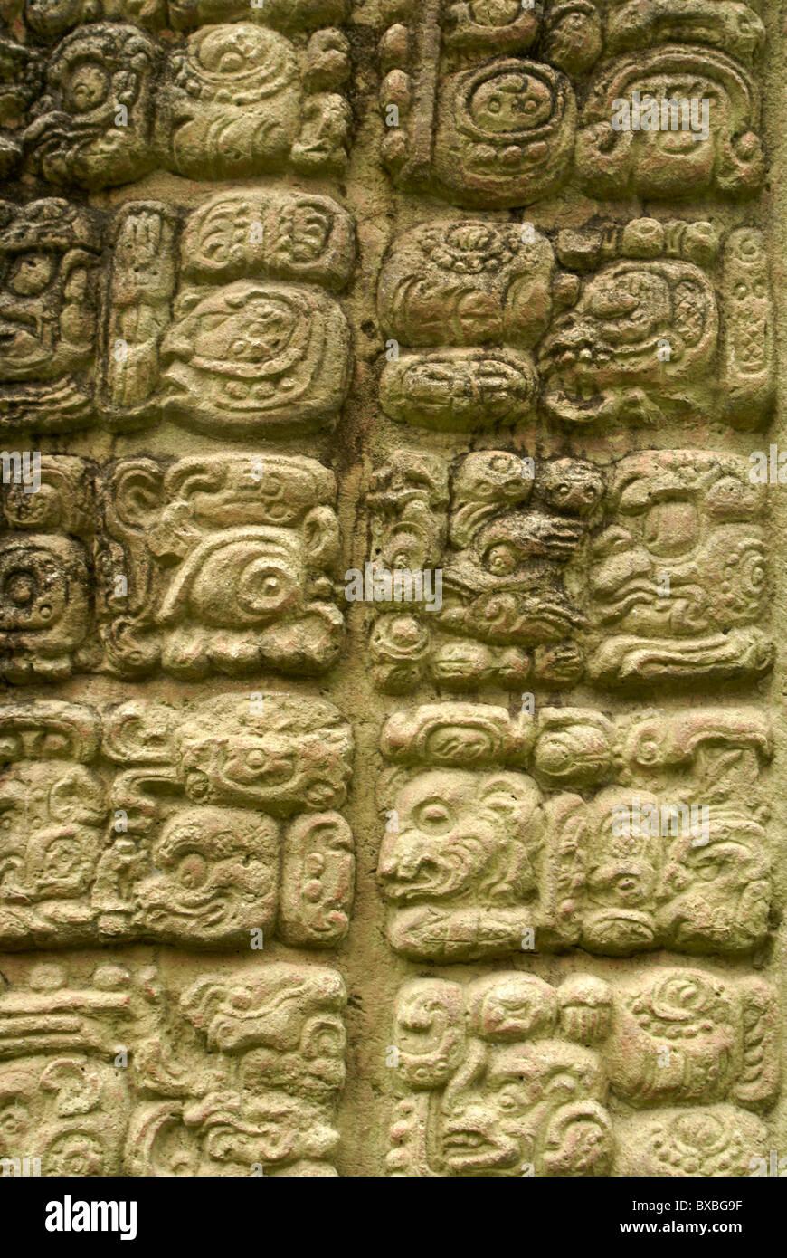 Mayan Hieroglyphics Stock Photos Mayan Hieroglyphics Stock