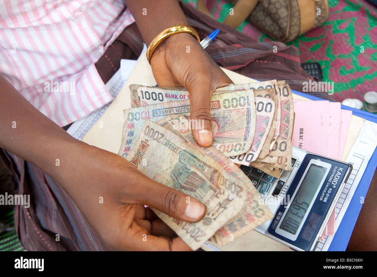 Money sierra leone stock photos money sierra leone stock images the leone is the unit of currency in sierra leone west africa stock biocorpaavc