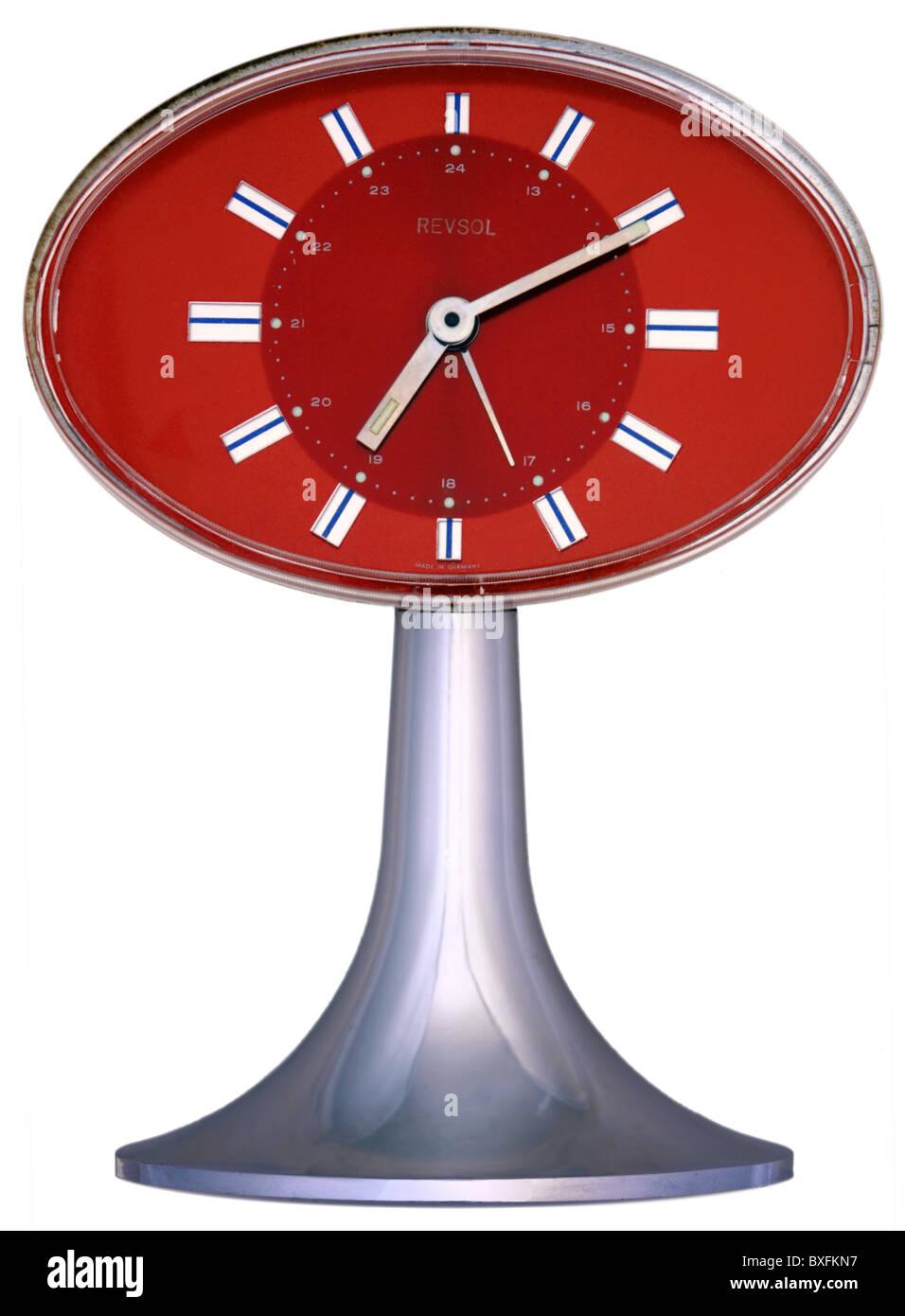 Table clocks stock photos table clocks stock images alamy clocks table clocks alarm clock revsol germany circa 1977 1970s gamestrikefo Gallery