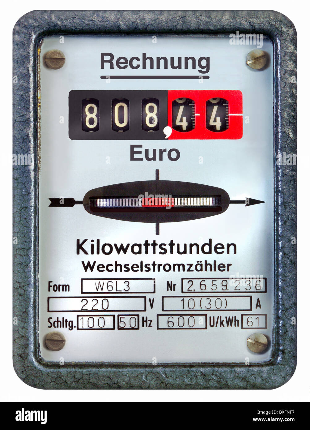 Electronic Electric Meter : Electricity meter where is my