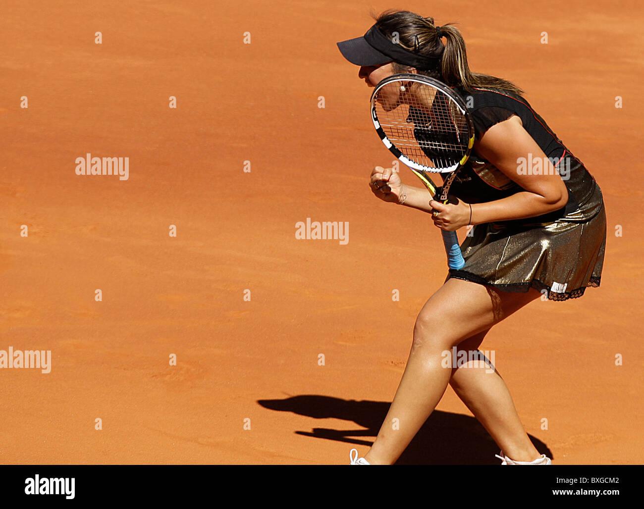 Aravane rezai fra in action against venus williams during the women s wta singles final
