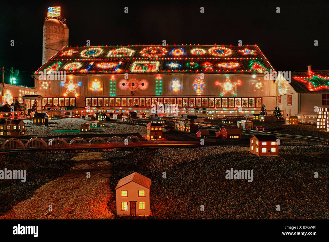 Christmas display at Koziar's Christmas Village, Bernville, PA ...
