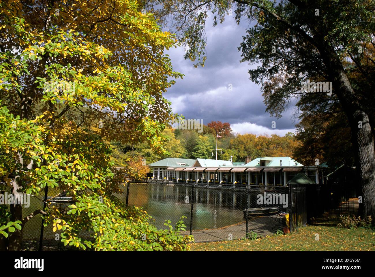 Boat Restaurant Central Park Nyc