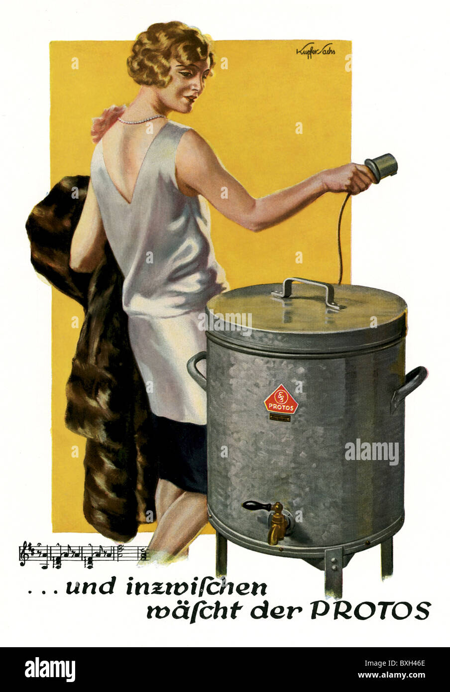 advertising, household applience, Siemens, automatic washing ...