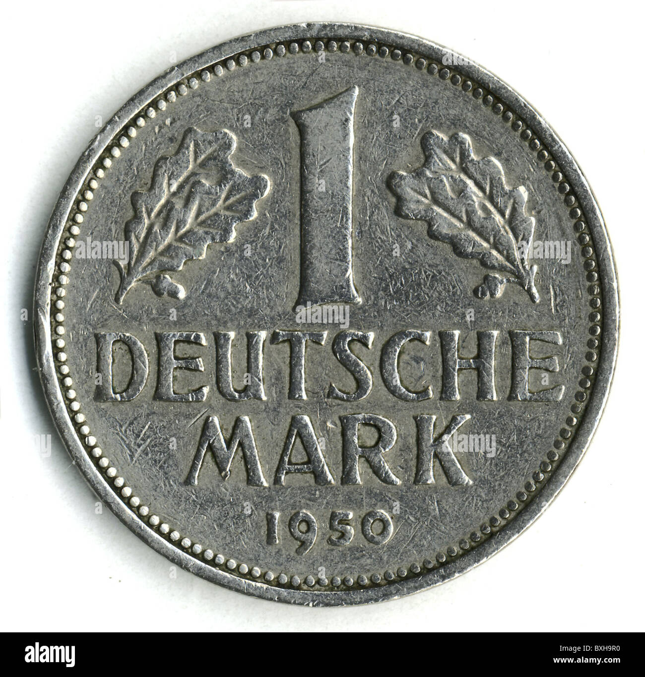 money finance coins germany 1 deutsche mark coined. Black Bedroom Furniture Sets. Home Design Ideas