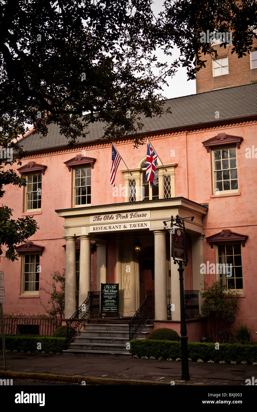 Pink Restaurant Savannah Ga