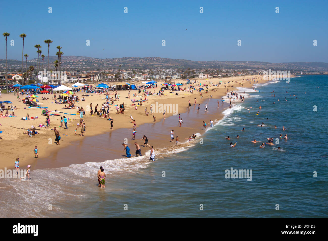 Balboa Peninsula Newport Beach Ca Usa