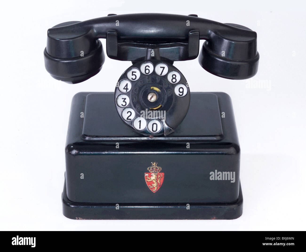 technics telephones telephone by a s elektrisk bureau oslo stock photo royalty free image. Black Bedroom Furniture Sets. Home Design Ideas