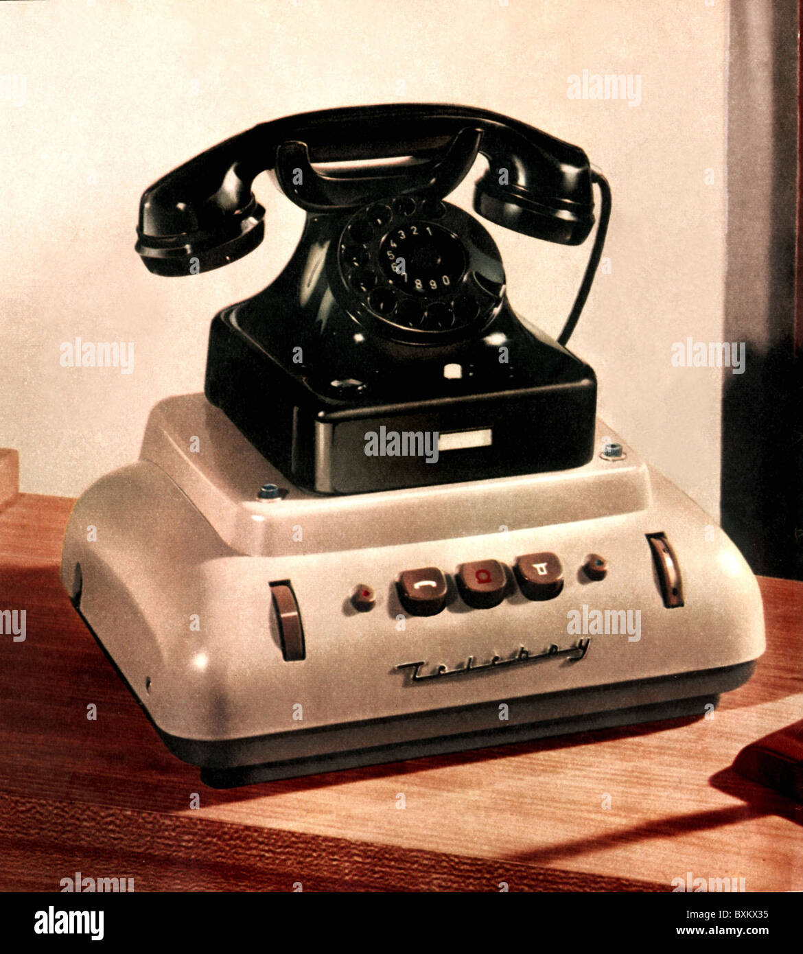 century office equipment. perfect equipment office office equipment telephone siemens w48 with answering machine  grundig teleboy germany 1957 invention 1950s 50s co for century office equipment e