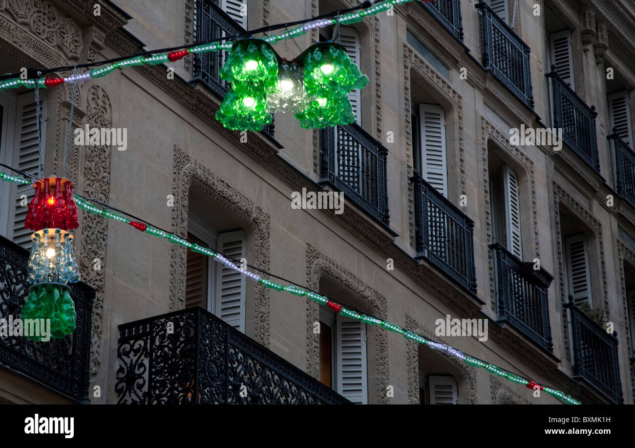 Parisian christmas decorations made from recycled plastic for H h christmas decorations