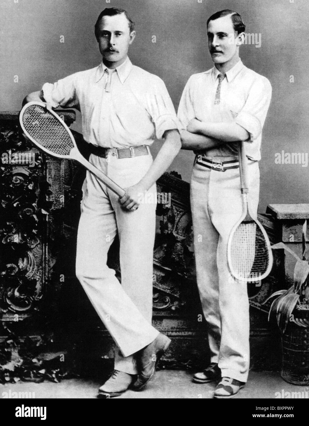 RENSHAW BROTHERS English Wimbledon tennis doubles champions