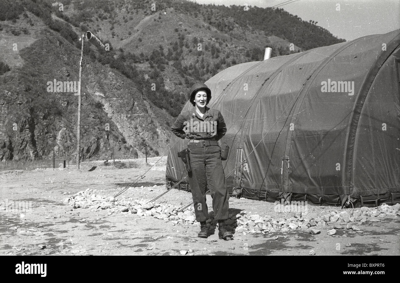 woman with rank of captain outside tent Mobile Army Surgical Hospital (MASH) United States Army medical unit hospital combat & woman with rank of captain outside tent Mobile Army Surgical ...