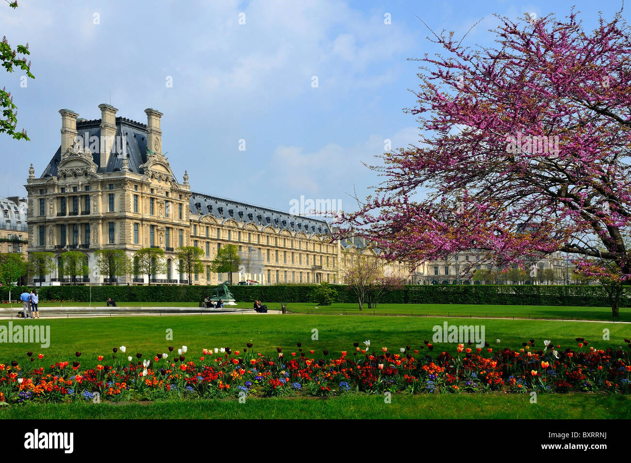 jardin des tuileries public garden rive droite paris stock photo royalty free image 33714958. Black Bedroom Furniture Sets. Home Design Ideas