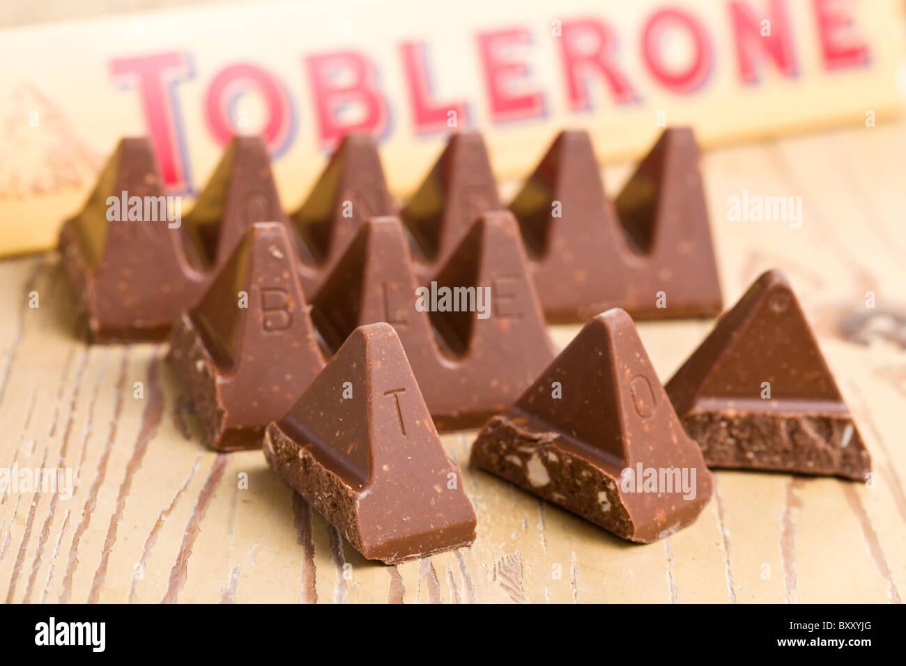 toblerone chocolate Stock Photo, Royalty Free Image: 33783864 - Alamy