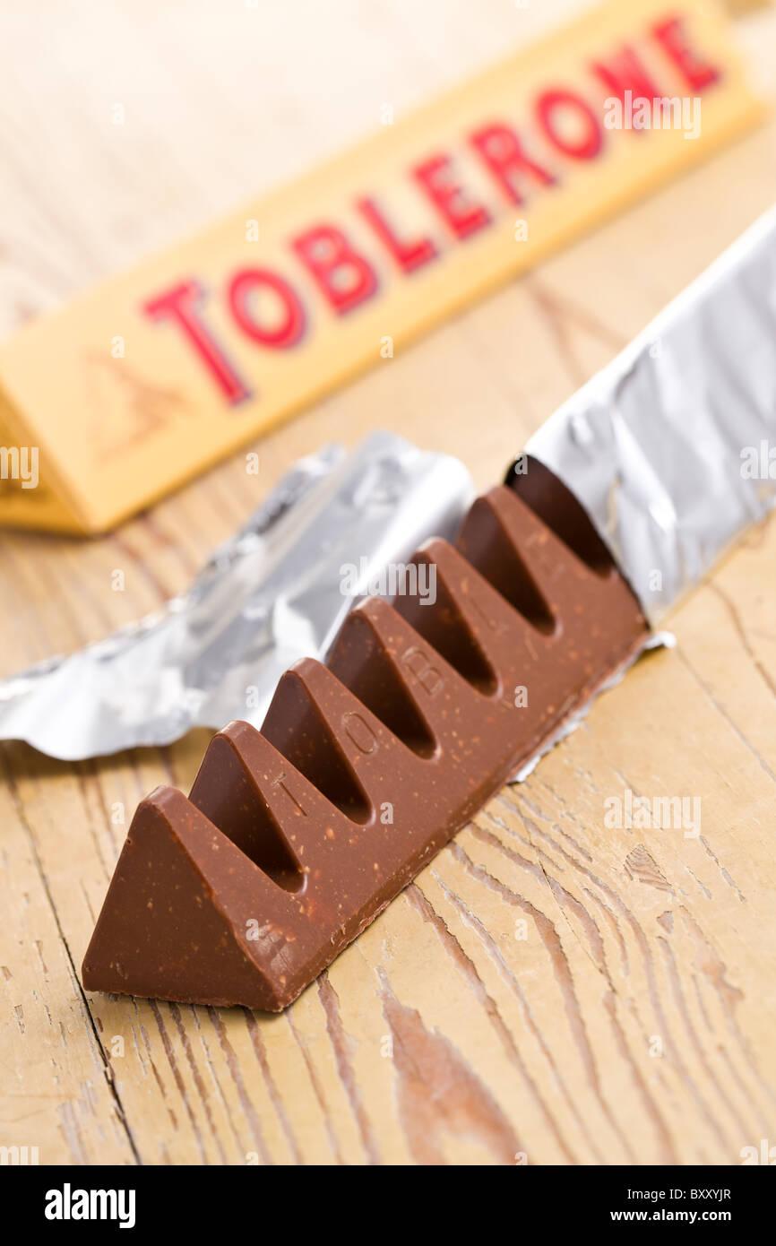 toblerone chocolate Stock Photo, Royalty Free Image: 33783871 - Alamy