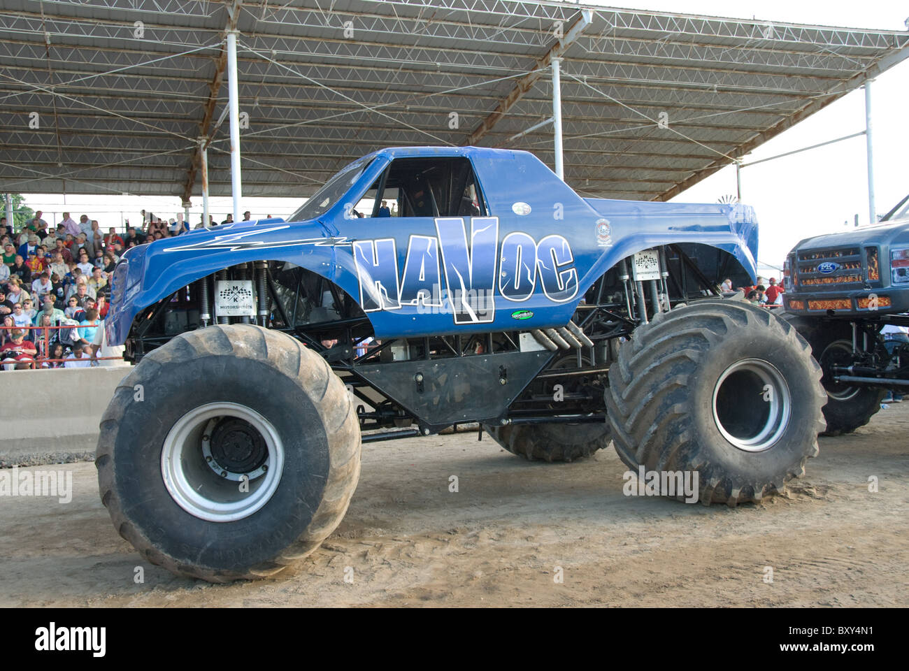 National monster truck show laporte county fairgrounds laporte indiana usa stock image