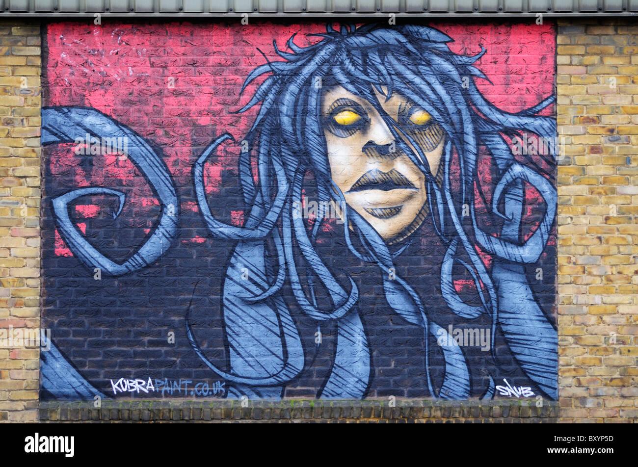 Graffiti wall cambridge - Graffiti Street Art Mural Newmarket Road Cambridge England Uk