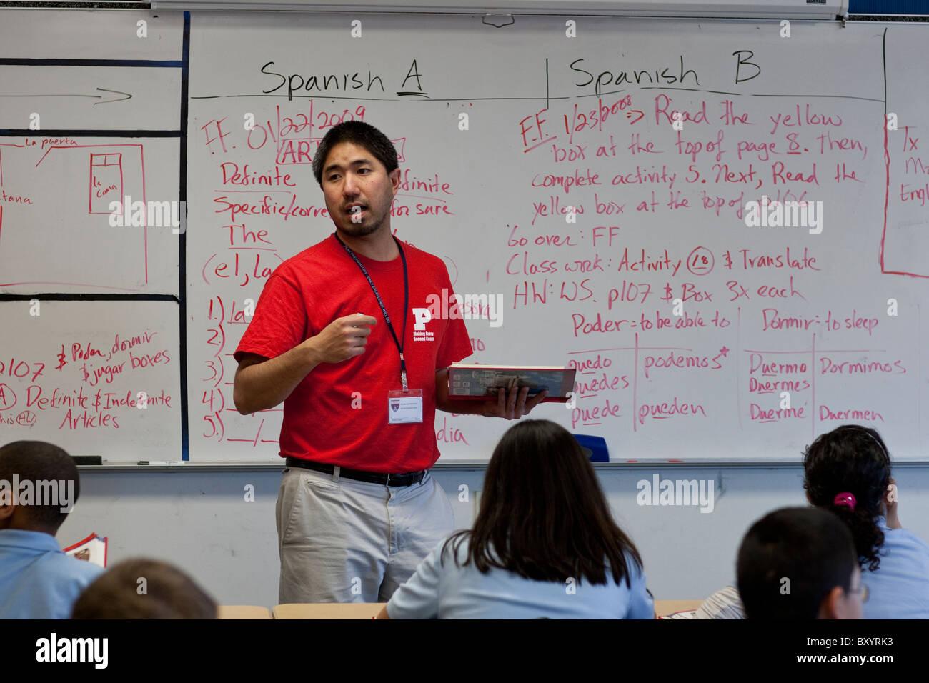 Becoming a high school spanish teacher..?