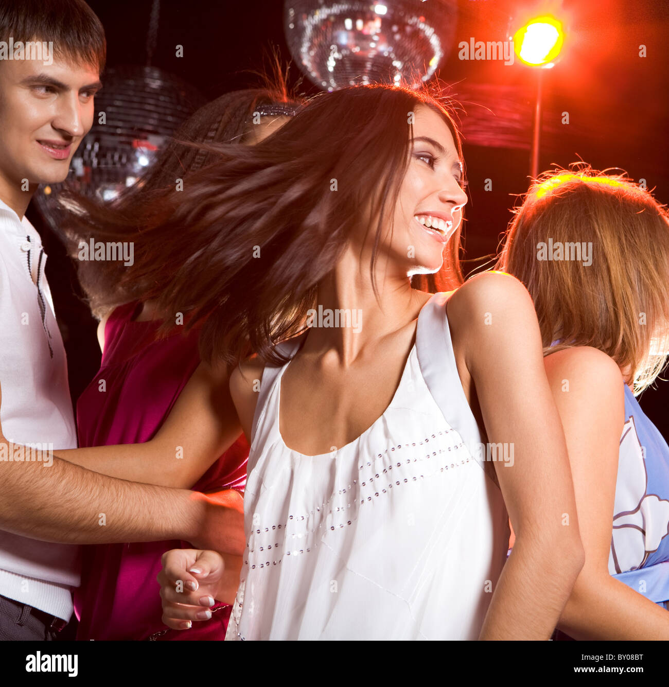 with girl a club? another Boyfriend danced in