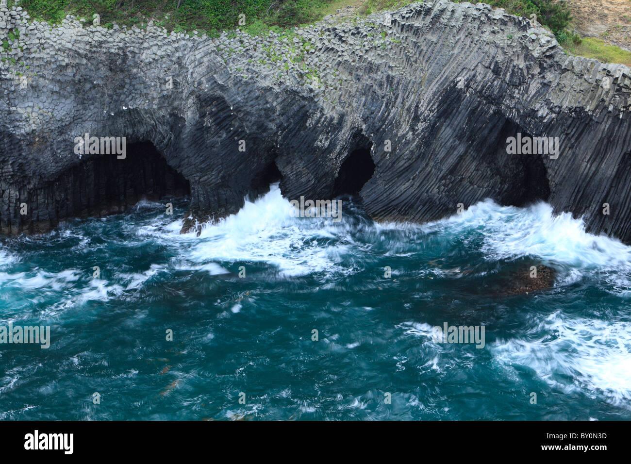 Nanatsugama Cave, Karatsu, Saga, Japan Stock Photo, Royalty Free ...