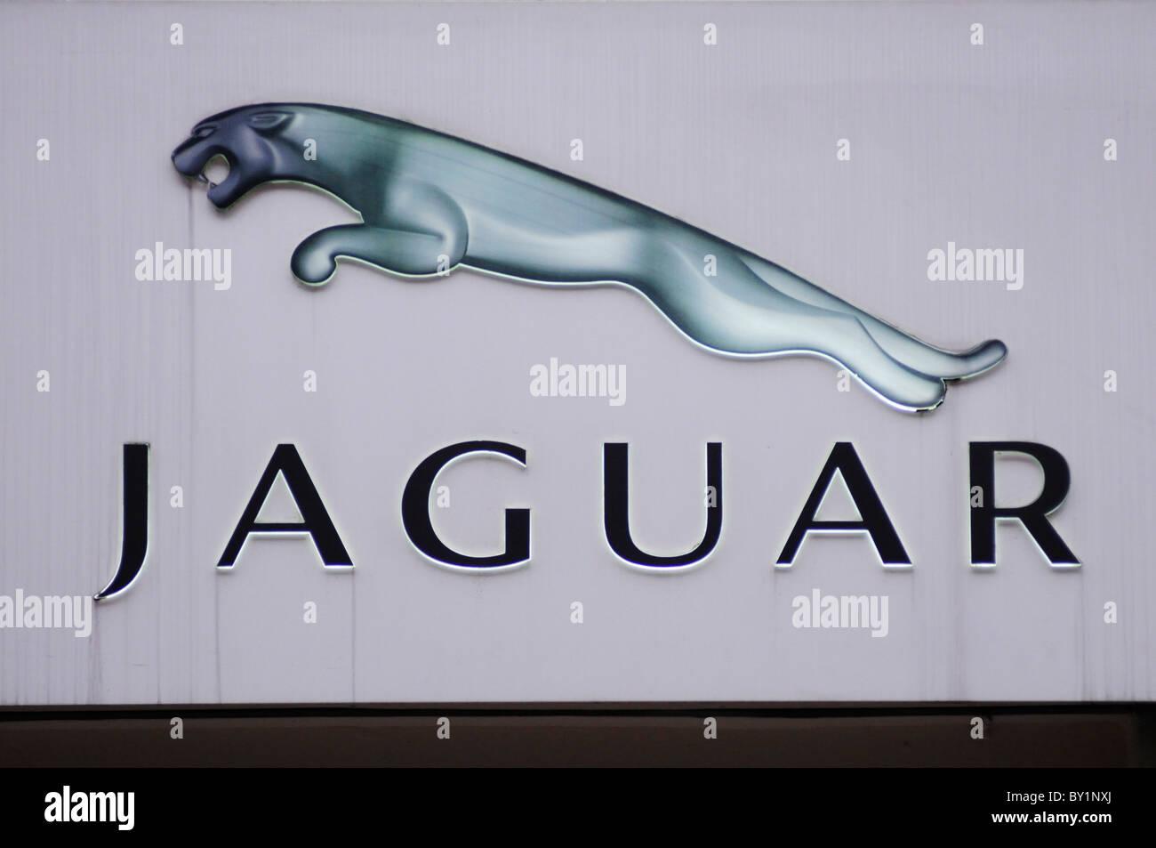Jaguar symbol stock photos jaguar symbol stock images alamy jaguar car maker marque symbol logo mayfair london england uk stock buycottarizona