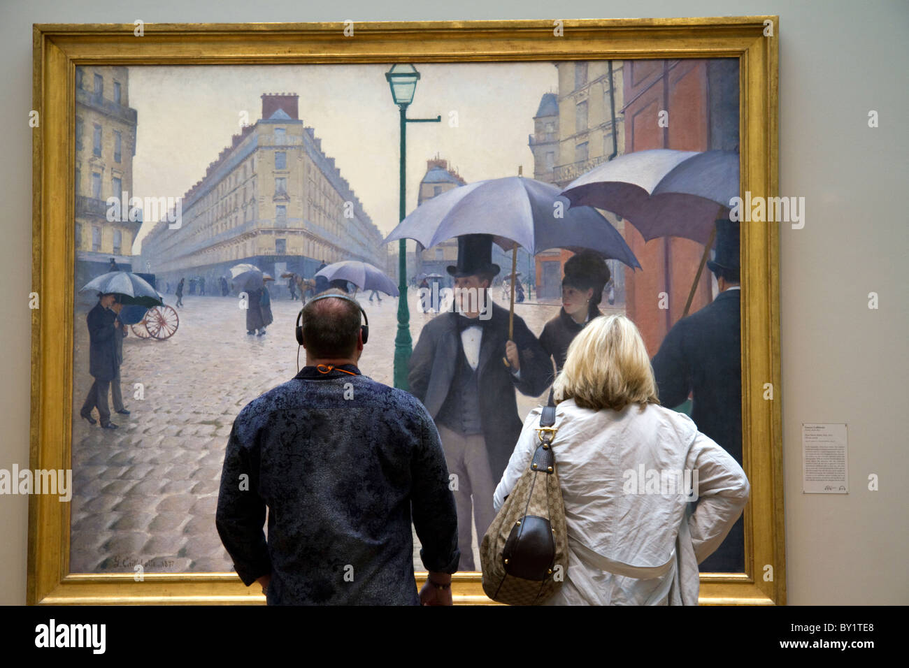 gustave caillebottes paris street rainy day Gustave caillebotte, paris street: rainy day, 1877, art institute of chicago so when i first arrived in paris, i couldn't help going to the site of paris street rainy day in the place de dublin behind gare saint lazare.