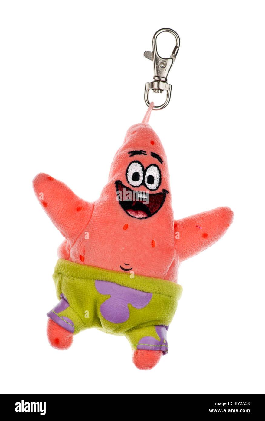 patrick star keyring a character from spongebob squarepants 2011