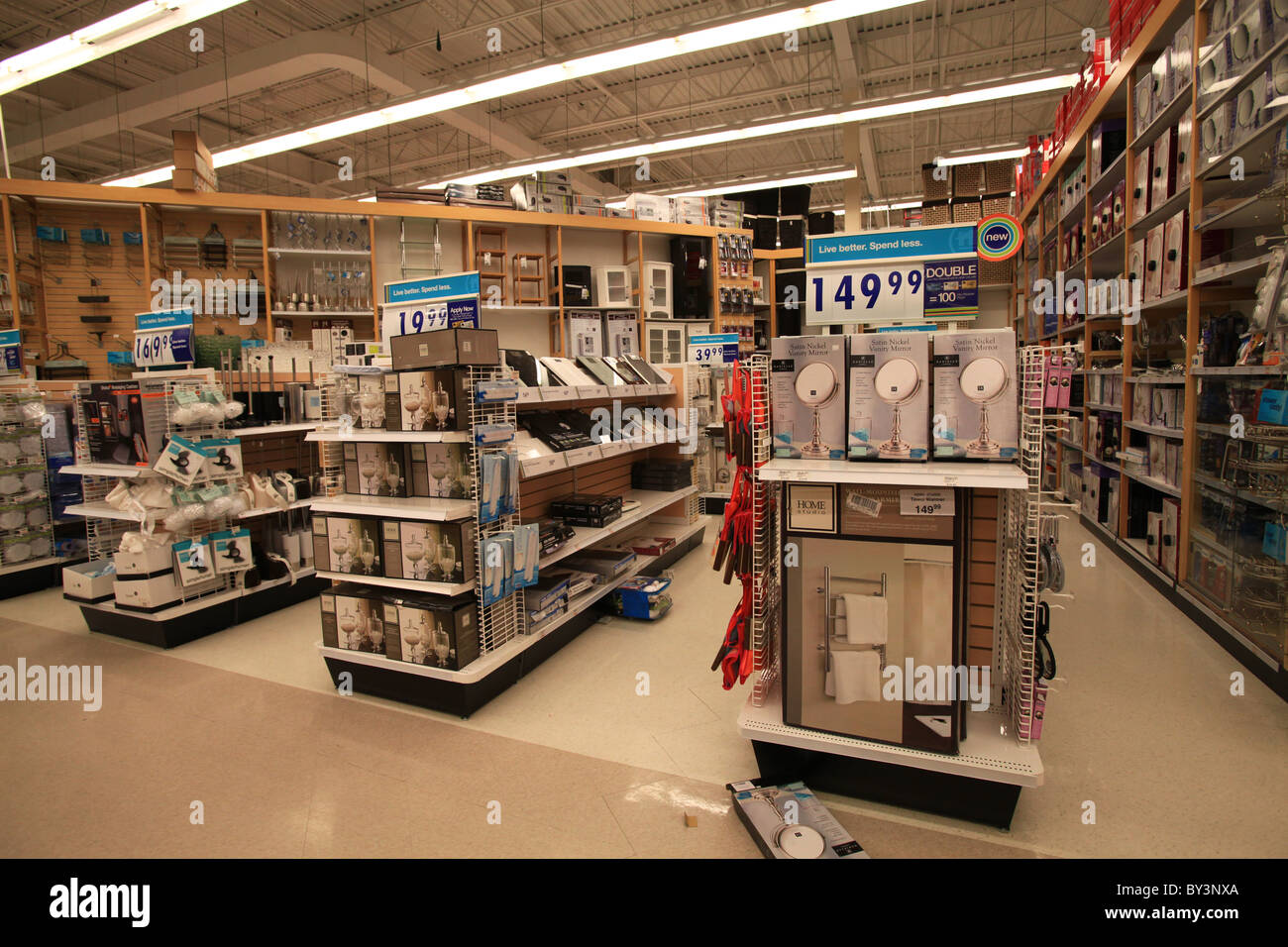 Bathroom Accessories For Sale In Home Outfitters Outlet Store In Stock Photo, Royalty Free Image