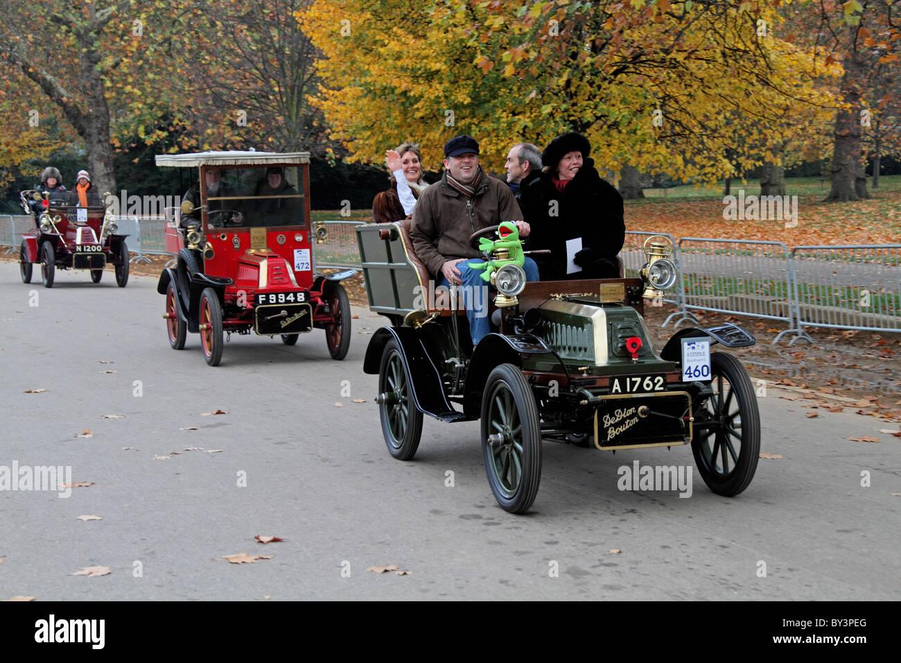 London to Brighton veteran car rally Stock Photo, Royalty Free ...