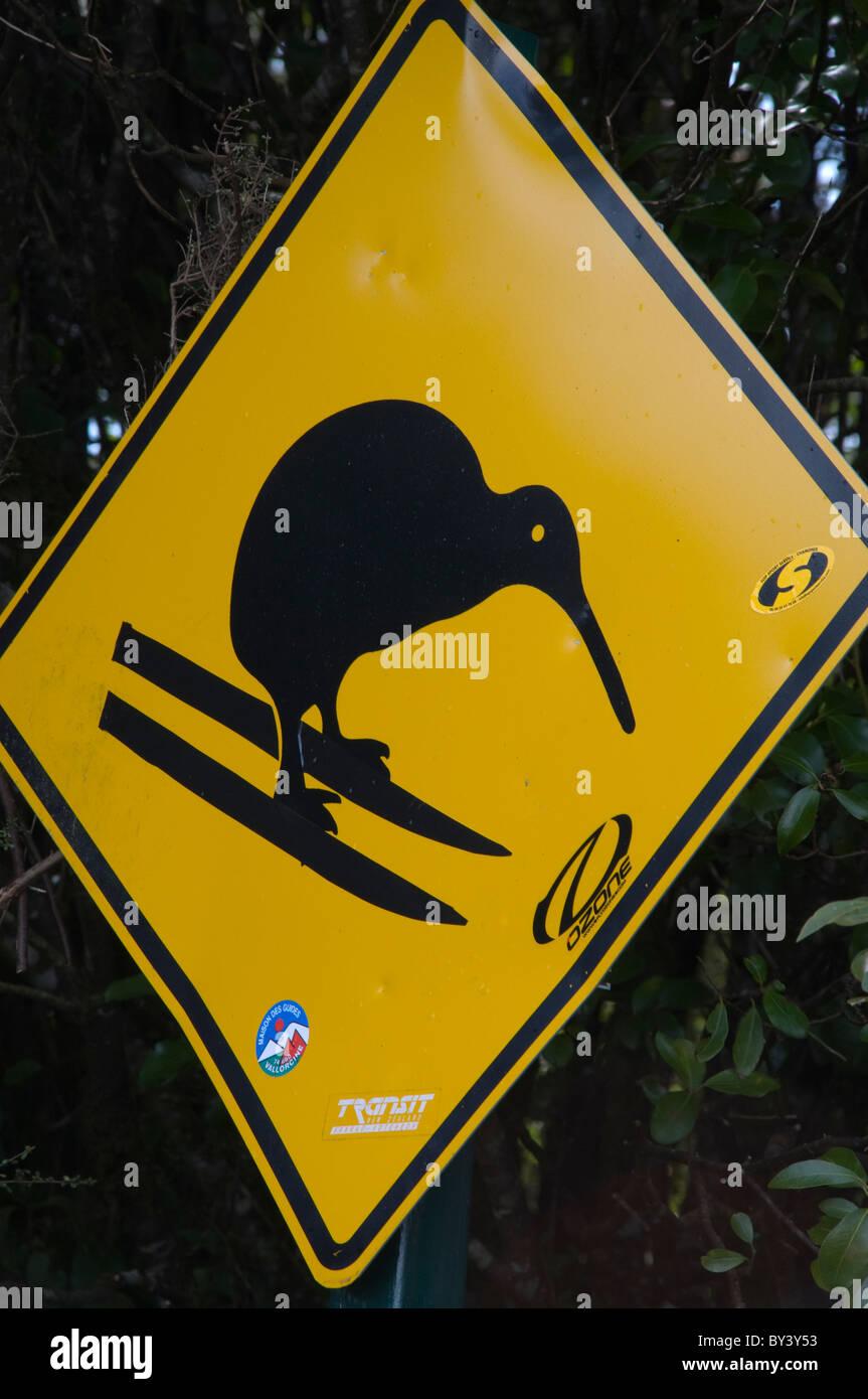 Kiwi Sign In New Zealand Stock Photos  Kiwi Sign In New Zealand